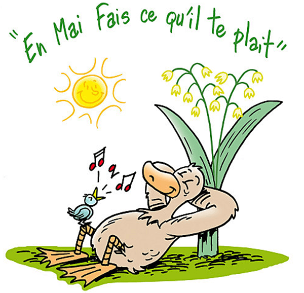 French saying - Spring 2