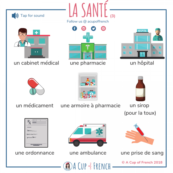 French words - health (3)