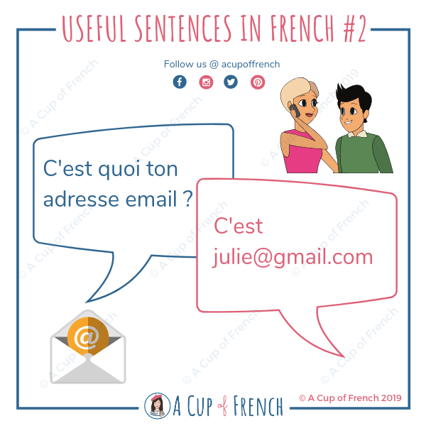 Useful sentences in French 2