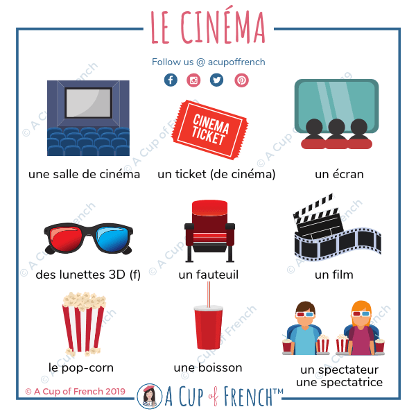 French words about movies
