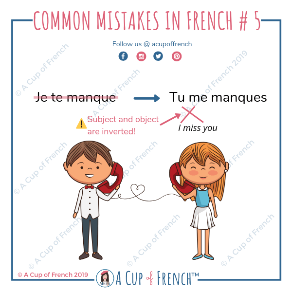 Common mistakes in French 5