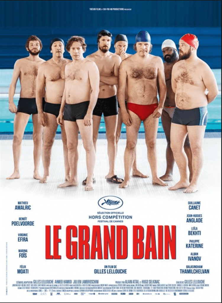 "French movie ""Le Grand Bain"""
