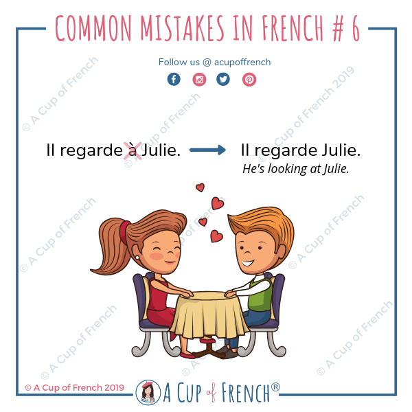 Common mistakes in French #6
