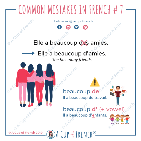 Common mistakes in French #7