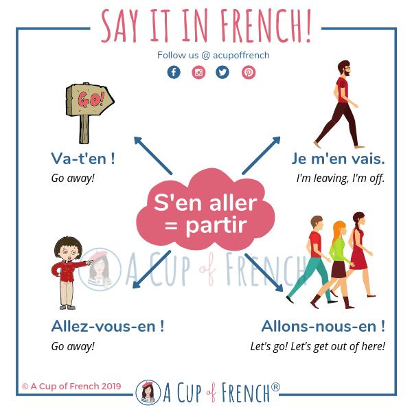 French verbs - s'en aller