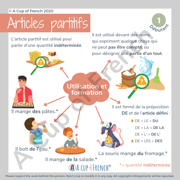 Partitive articles in French 2