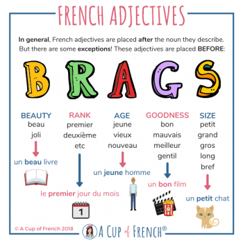 French adjectives position