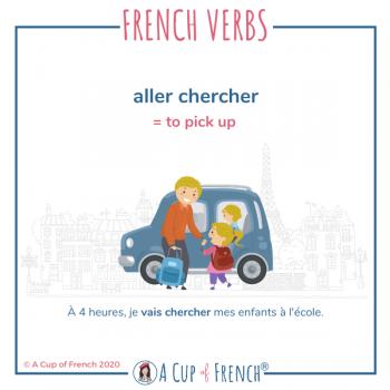 French verbs - Aller chercher