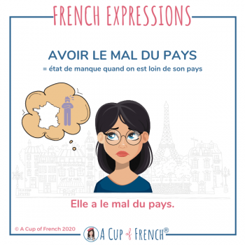 French expression - Avoir le mal du pays