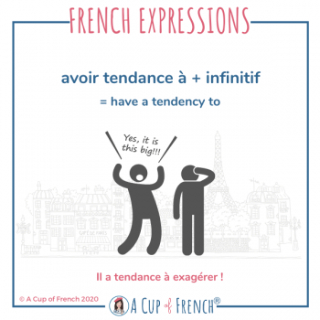 French expression - Avoir tendance