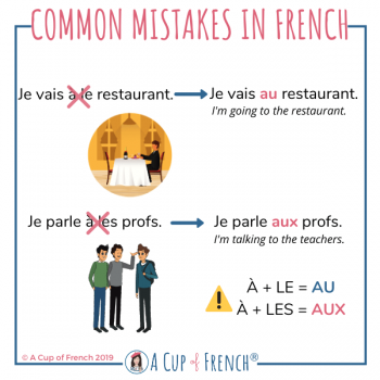 Common mistakes in French #12