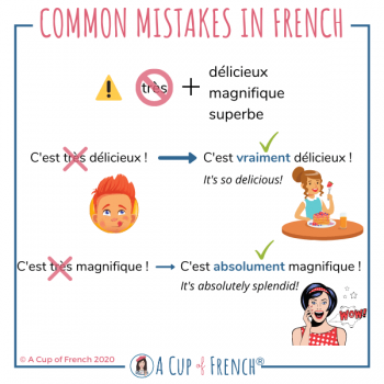 Common mistakes in French #14