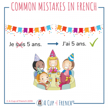 Common mistakes in French 3