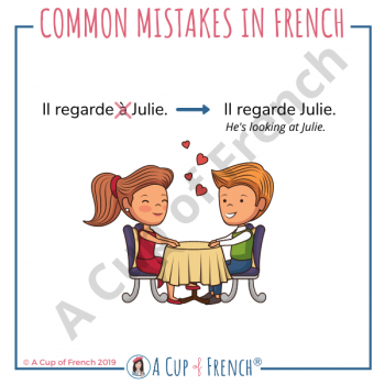 Common mistake in French #5