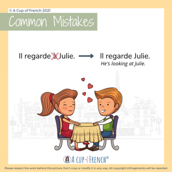 Common mistake in French 5