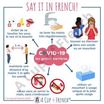 Coronavirus - French vocabulary