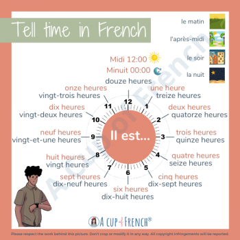 Tell time in French 1