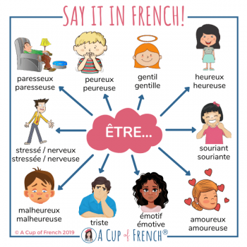 French adjectives to describe a person (1)