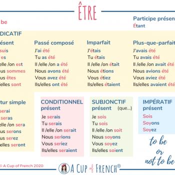 Conjugation of ÊTRE