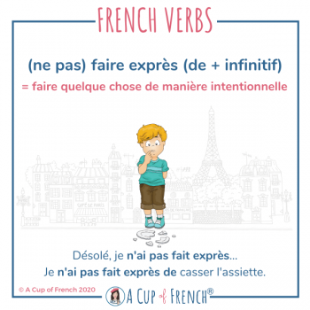 French expression - Faire exprès