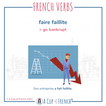 French expression - Faire faillite