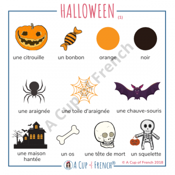 Halloween in French
