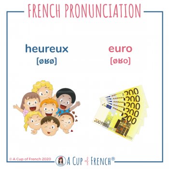 French pronunciation - HEUREUX - EURO