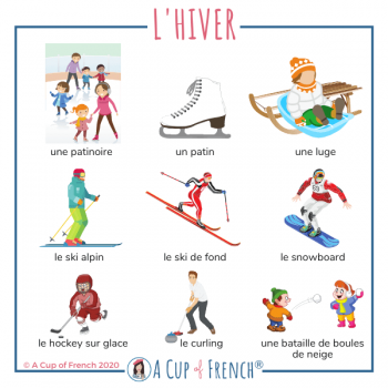 Winter French words 2