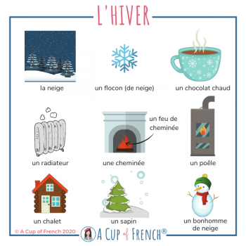 Winter French words 1