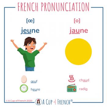 French pronunciation - JEUNE / JAUNE