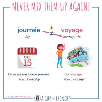 Journée VS voyage