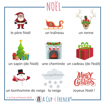 Christmas - French words 1