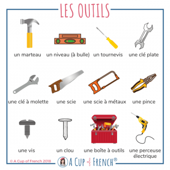 Tools in French