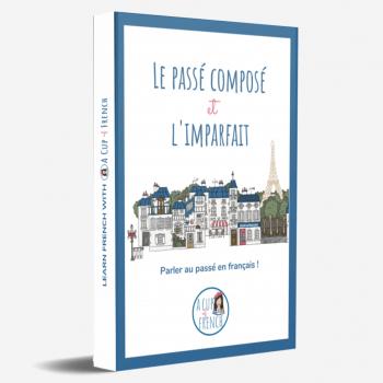 Book cover Passé composé Imparfait
