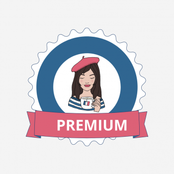 Premium membership badge