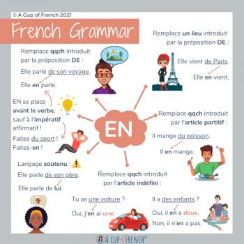 French pronoun EN