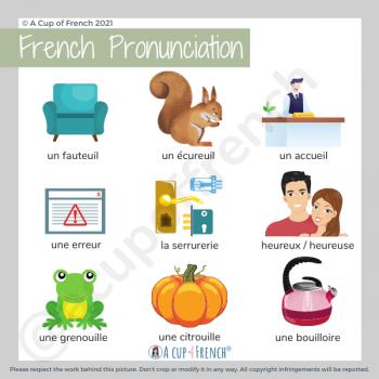 Difficult French pronunciation
