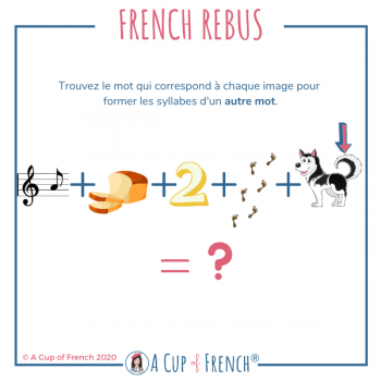 French rebus 12