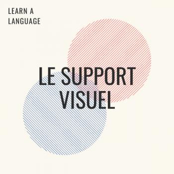 Visual medium to learn a new language