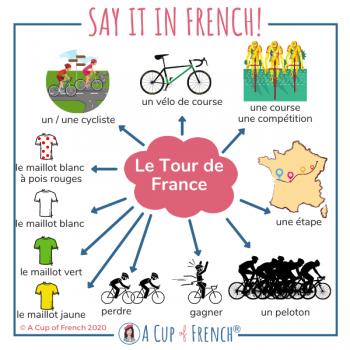 French words - Tour de France