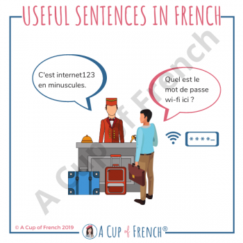 Useful sentence in French 1