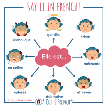 French adjectives to describe a person